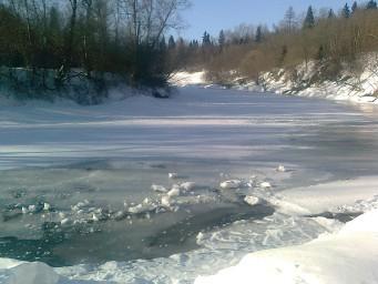 Протва зимой необыкновенно хороша!