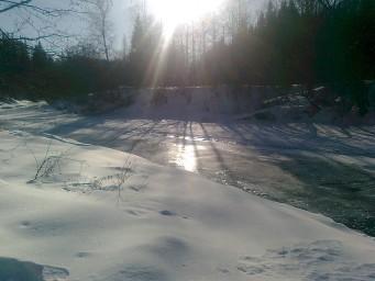 Первый лёд на Протве