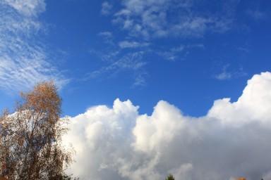 Только здесь такое синее небо